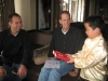Perry Chen presenting gifts to Docter & Rivera.JPG