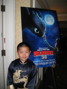 Perry Chen at Paramount How to Train Your Dragon press junket 3-20-10