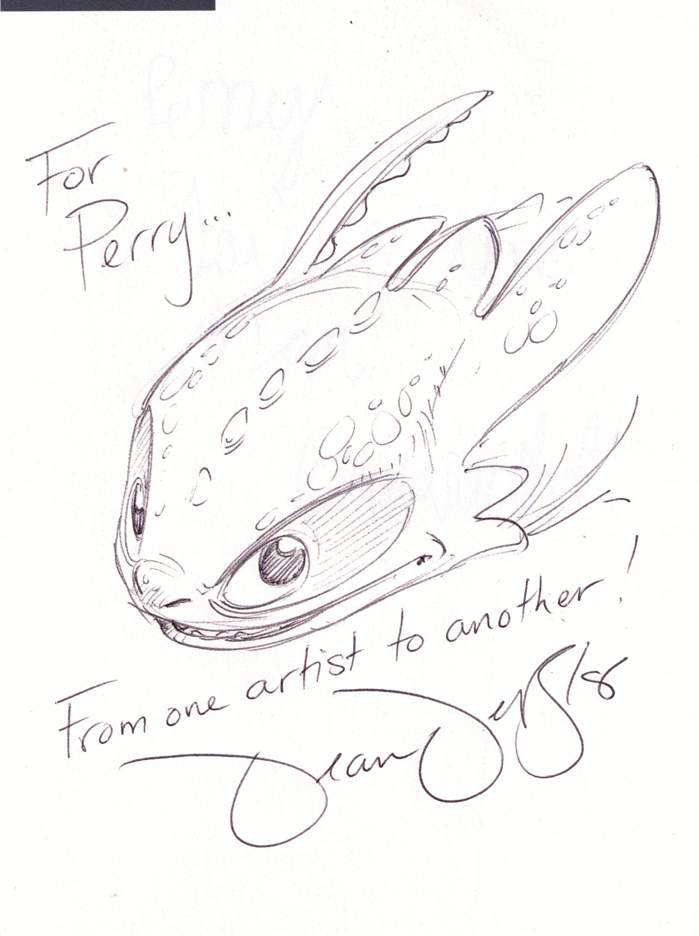 Dreamworks Dragons Drawings Dragon Co-director Dean