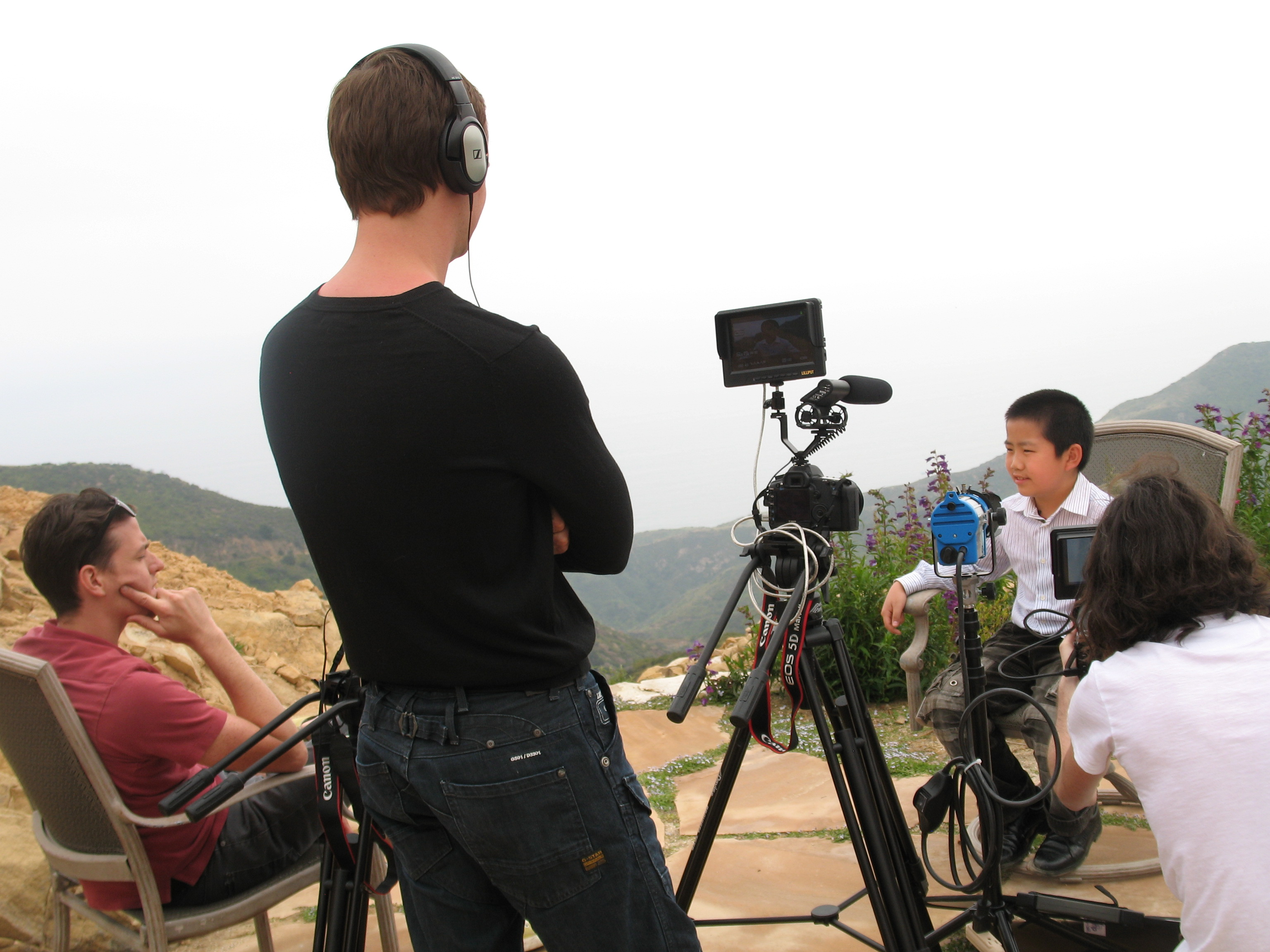 """Child Film & Food Critic Perry Chen in Feature Documentary Film """"Average Joe on the Raw,"""" Upcoming Shooting in San Diego"""