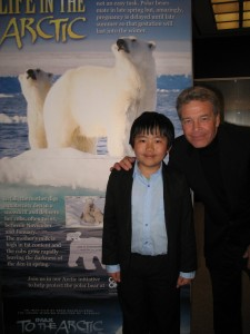 Perry Chen with Brad Ohlund, Director of Photography, To the Arctic at RHFleet press screening (photo by Zhu Shen)