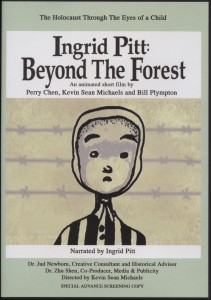 """Ingrid Pitt: Beyond the Forest"" DVD Covre"