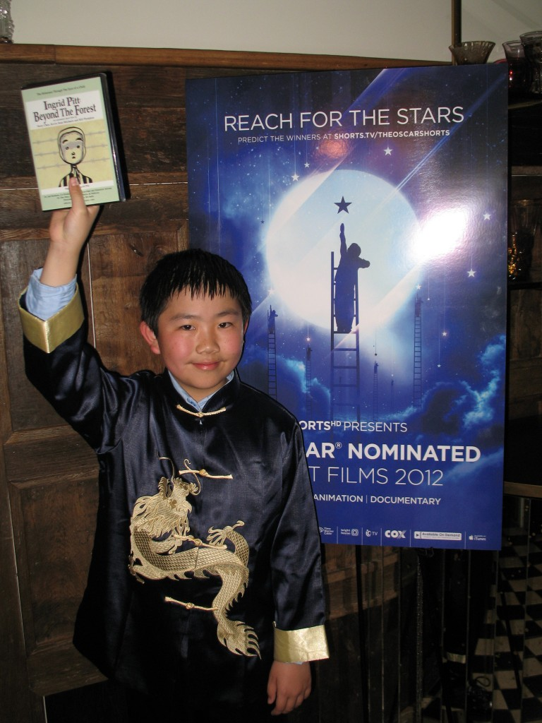 2-24-12 Perry Chen Reaching for the Stars at Shorts Awards