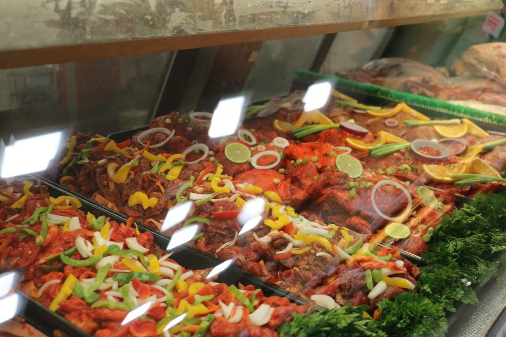 seasoned meats