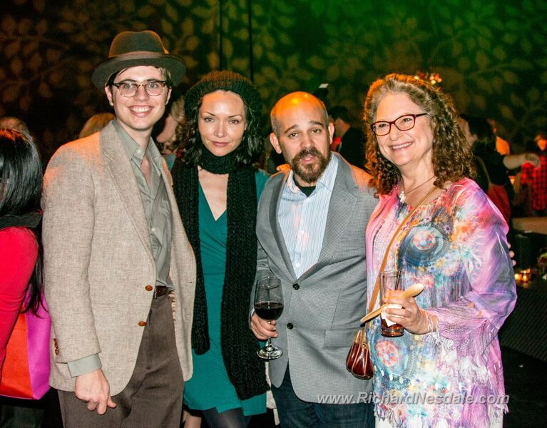 """Indecent"" cast members at La Jolla Playhouse premiere (photo by Richard Nesdale)"