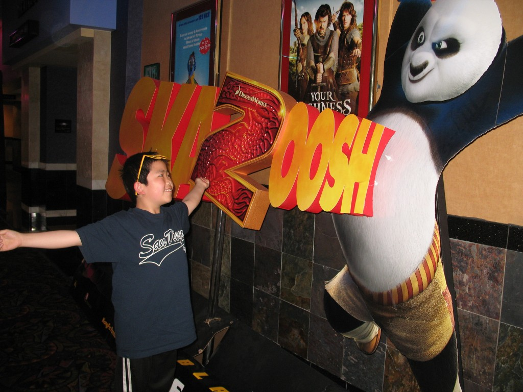 Perry Chen at Kung Fu Panda 2 press screening April 2011 (photo by Zhu Shen)