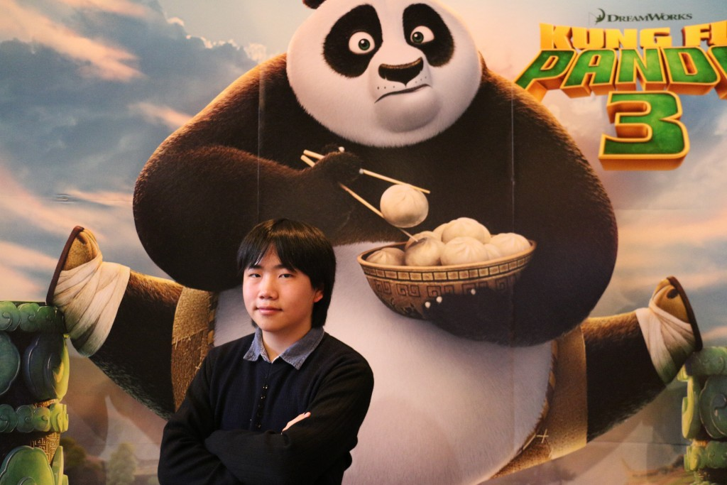 Perry Chen at Kungfu Panda 3 press screening